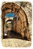Армянский квартал Иерусалима Стоковая Фотография