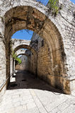 Армянский квартал Иерусалима Стоковые Фотографии RF