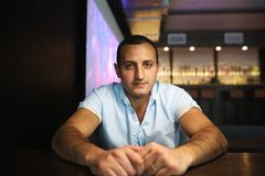 Армянский красивый портрет человека Стоковое Изображение RF