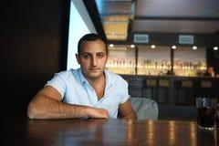 Армянский красивый портрет человека Стоковое фото RF