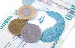 Армянский крупный план драхмы денег стоковое фото