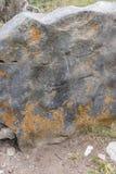 Армянский перекрестный камень Стоковая Фотография