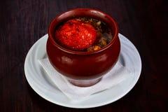Армянский суп Khashlama Стоковое Изображение RF