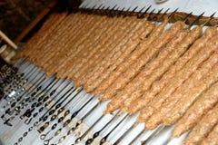 армянское kebab Стоковые Изображения