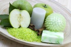 Ароматичная ванна яблока Стоковое Изображение RF