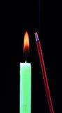 ароматичная ручка свечки Стоковая Фотография