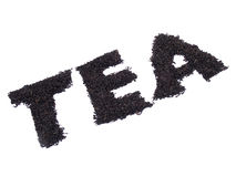ароматичное слово чая Стоковые Изображения