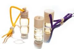 Ароматичные масла, бутылка ароматности Предпосылка ароматерапии стоковые изображения rf