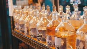 Ароматичные масло и духи в арабском магазине E акции видеоматериалы