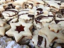 ароматичные специи gingerbread печений рождества выпечки стоковые фото