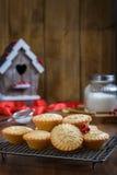 ароматичные специи gingerbread печений рождества выпечки Стоковое Изображение RF