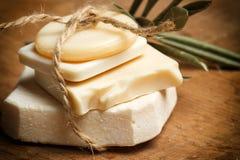 Ароматичные handmade мыла Стоковое фото RF