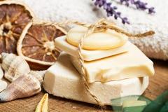 Ароматичные handmade мыла Стоковое Изображение RF