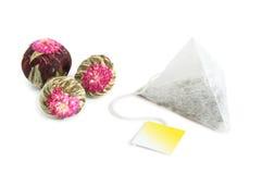 ароматичный чай листьев стоковые изображения