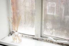 Ароматность Corner_United Kingdom_January 2018 окна Стоковая Фотография