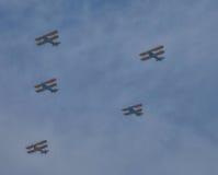 Арсенал демократии--Самолет-бипланы Стоковая Фотография