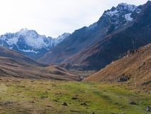 Арсин ` Col d, могила Ла, alpes hautes, ФРАНЦИЯ стоковое изображение rf