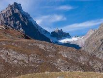 Арсин ` Col d, могила Ла, alpes hautes, ФРАНЦИЯ стоковые фото