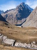 Арсин ` Col d, могила Ла, alpes hautes, ФРАНЦИЯ стоковые изображения