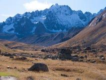 Арсин ` Col d, могила Ла, alpes hautes, ФРАНЦИЯ стоковая фотография