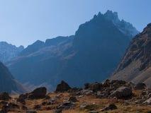 Арсин ` Col d, могила Ла, alpes hautes, ФРАНЦИЯ стоковое фото