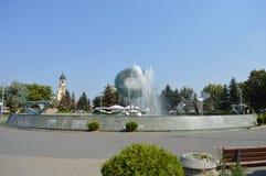 Артезианский фонтан Alba Iulia в Transilvania, Стоковые Фотографии RF