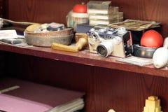 Артефакты открытые в новой гостинице Yorker, Манхаттане стоковая фотография rf
