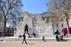 артиллерия мемориальная королевская Великобритания Стоковая Фотография RF