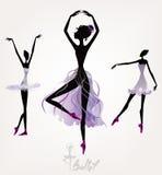 Артисти балета Стоковое Изображение