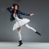 Артист балета авангарда стоковое фото rf