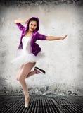 Артист балета, концепция балета классического и современного стоковая фотография