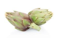 Артишоки, зеленые овощи Стоковое Фото