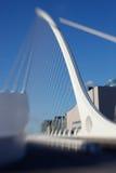 арфа dublin моста Стоковое Фото