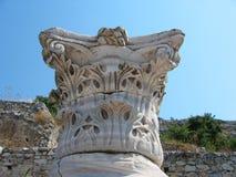 Археологические раскопки македонии Греции Philippi Kavalla стоковое изображение rf