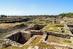 Археологический город музея Tanais в России стоковое фото