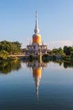 Археологическое место будизма Таиланда Стоковые Изображения RF