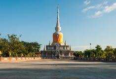 Археологическое место будизма Таиланда Стоковая Фотография