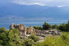 археологическое место Греции стоковое фото
