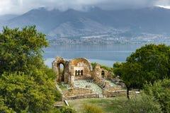 археологическое место Греции стоковое изображение