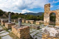 археологическое место Греции стоковые изображения rf