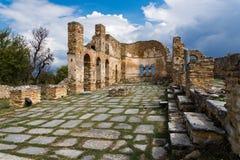 археологическое место Греции стоковые изображения