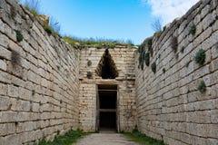 археологическое место Греции стоковое фото rf