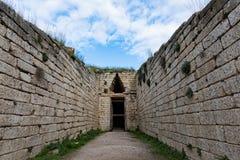 археологическое место Греции стоковая фотография rf
