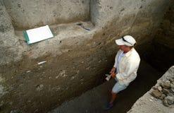 археологическое место Стоковая Фотография