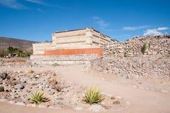 археологическое место oaxaca mitla Мексики Стоковые Фото