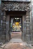 Археологическое место Wat Phu около Champasak Стоковые Фотографии RF