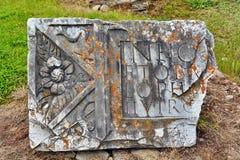 Археологическое Sarmizegetusa Ulpia Traiana стоковая фотография rf
