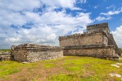 археологическое tulum руин Стоковое Изображение
