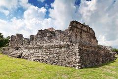 археологическое tulum руин Стоковое фото RF