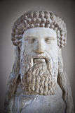 Археологическая деталь статуи Стоковые Фотографии RF